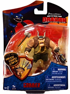 How to Train Your Dragon Movie 4 Inch Series 2 Action Figure Gobber[Hammer]