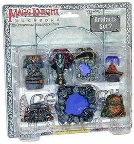 Mage Knight Dungeons Artifacts Set 2