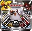 Monsuno S.T.O.R.M. vs Eklipse 2-Pack Elemental Edition #38 Airchopper & #36 Stingapede [ 2 Figure, 2 Core & 2 Card]
