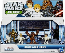 Star Wars 2013 Playskool Jedi Force Adventure Pack Death Star Escape New!