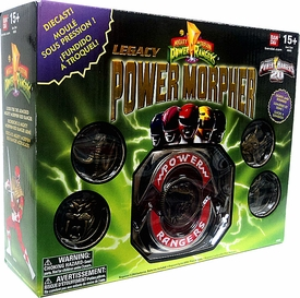 Power Rangers Exclusive 20th Anniversary Mighty Morphin Legacy Power Morpher