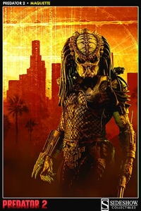 Predator 2 Sideshow Collectibles 1/4 Scale Mauqette Predator 2 Pre-Order ships August