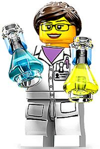 LEGO Minifigure Collection Series 11 LOOSE Mini Figure Scientist