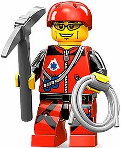 LEGO Minifigure Collection Series 11 LOOSE Mini Figure Mountain Climber BLOWOUT SALE!