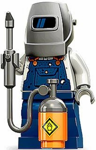 LEGO Minifigure Collection Series 11 LOOSE Mini Figure Welder