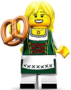 LEGO Minifigure Collection Series 11 LOOSE Mini Figure Bavarian Lady