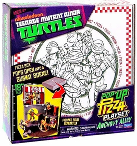 Nickelodeon Teenage Mutant Ninja Turtles Pop-Up Pizza Playset
