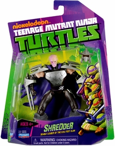 Nickelodeon Teenage Mutant Ninja Turtles Basic Action Figure Shredder {Unmasked} [Deadly Leader of the Evil Foot Clan]