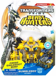 Transformers Prime Beast Hunters Deluxe Action Figure Bumblebee [Firing Eagleshot Bow!]