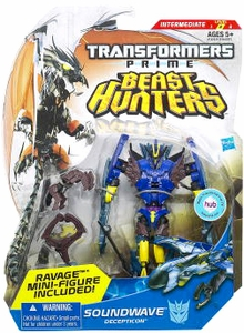 Transformers Prime Beast Hunters Deluxe Action Figure Soundwave