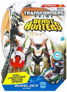 Transformers Prime Beast Hunters Deluxe Action Figure Wheeljack