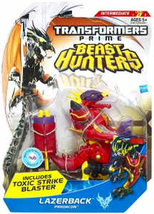 Transformers Prime Beast Hunters Deluxe Action Figure Lazerback