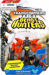 Transformers Prime Beast Hunters Commander Action Figure Predaking [Cybervenom Rocket Launcher!]