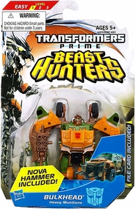 Transformers Prime Beast Hunters Commander Action Figure Bulkhead [Nova Hammer Included!]