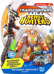 Transformers Prime Beast Hunters Deluxe Action Figure Autobot Ratchet