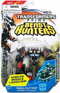 Transformers Prime Beast Hunters Commander Action Figure Trailcutter