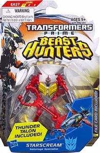 Transformers Prime Beast Hunters Commander Action Figure Starscream