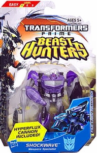 Transformers Prime Beast Hunters Commander Action Figure Shockwave [Hyperflux Cannon Included!]