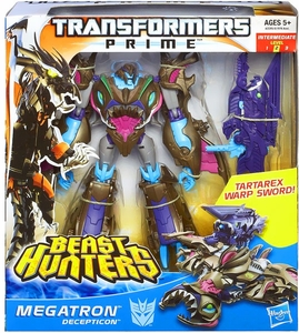 Transformers Prime Beast Hunters Voyager Action Figure Sharkticon Megatron
