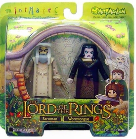 Lord of the Rings Minimates Saruman & Grima