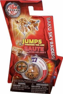 Bakugan Baku Sky Raiders Brown Reptak