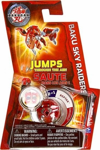 Bakugan Baku Sky Raiders Red Reptak