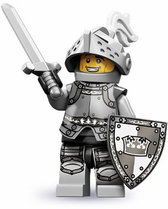 LEGO Minifigure Collection Series 9 LOOSE Mini Figure Heroic Knight