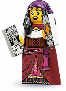 LEGO Minifigure Collection Series 9 LOOSE Mini Figure Fortune Teller