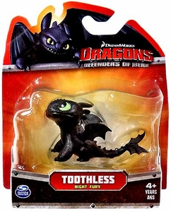 Dragons Defenders of Berk  3 Inch Mini Figure Toothless [Night Fury]