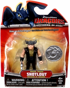 Dragons Defenders of Berk 3 Inch Mini Figure Snotlout [Dragon Trainer]