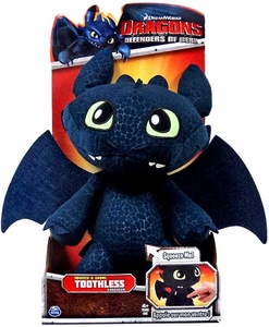 Dragons Defenders of Berk 12 Inch Plush Squeeze & Growl Toothless
