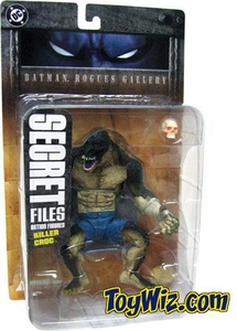 DC Direct Secret Files Batman Rogues Gallery Action Figure Killer Croc
