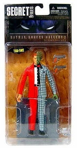 DC Direct Secret Files Series 3: Batman Rogues Gallery 2 Action Figure Two Face