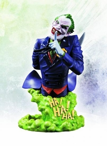 DC Comics Super Villains 6 Inch Joker Bust