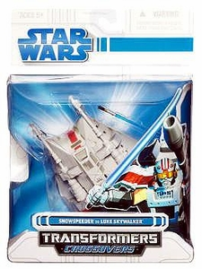 Star Wars Clone Wars Transformers Crossovers Snowspeeder to Luke Skywalker