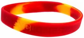 Official NCAA College School Rubber Bracelet IOWA STATE Cyclones [Marble]