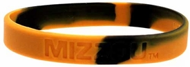 Official NCAA College School Rubber Bracelet MISSOURI Mizzou Tigers [Marble]