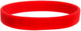 Official NCAA College School Rubber Bracelet NEW MEXICO Lobos [Orange]