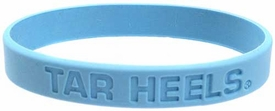 Official NCAA College School Rubber Bracelet NORTH CAROLINA Tar Heels [Blue]
