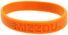 Official NCAA College School Rubber Bracelet MISSOURI Tigers [Yellow]