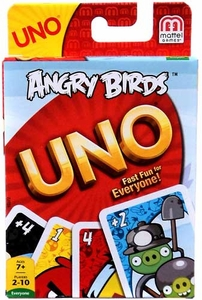 Angry Birds Card Game UNO