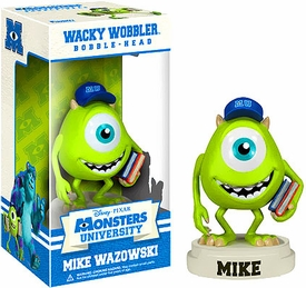 Funko Disney Monsters University Wacky Wobbler Bobble Head Mike Wazowski