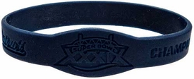 Official NFL Super Bowl XXXIX New England Patriots Championship [Blue] Rubber Bracelet