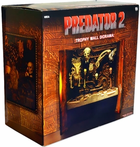 NECA Predator 2 Limited Edition Diorama Trophy Wall