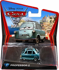 Disney / Pixar CARS 2 Movie 1:55 Die Cast Car #6 Professor Z