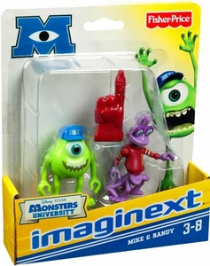 Disney / Pixar Monsters University Imaginext Mini Figure 2-Pack Mike & Randy