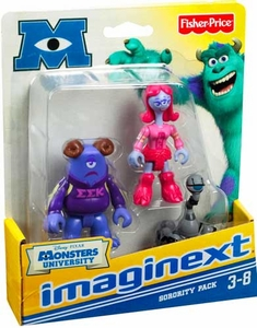 Disney / Pixar Monsters University Imaginext Mini Figure 3-Pack Sorority