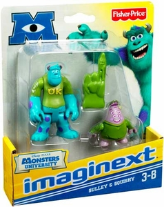 Disney / Pixar Monsters University Imaginext Mini Figure 2-Pack Sulley & Squishy