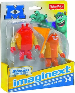 Disney / Pixar Monsters University Imaginext Mini Figure 2-Pack George & Big Red