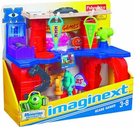 Disney / Pixar Monsters University Imaginext Playset Scare Games